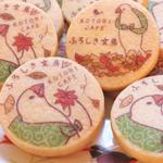 ふろしき文鳥クッキー・チーズケーキ好評発売中!